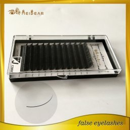Beautiful mink individual eyelashes extension wholesale with custom packaging