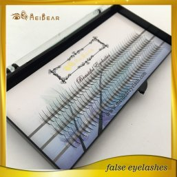 Custom package Russian volume eyelashes extension with private label