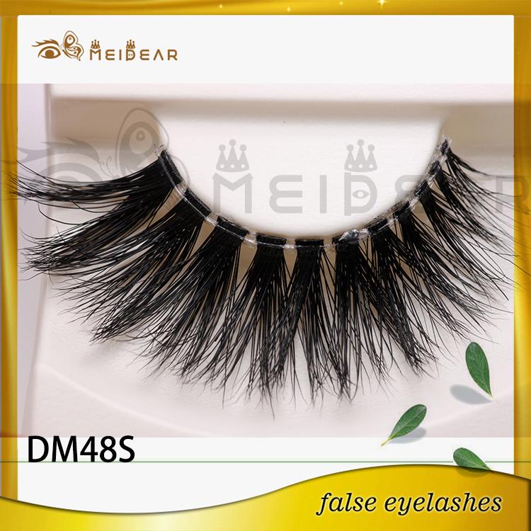 Distribute hot selling natural 3d mink eyelashes