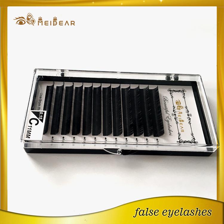 Natural eyelash extensions supplier manufacturer