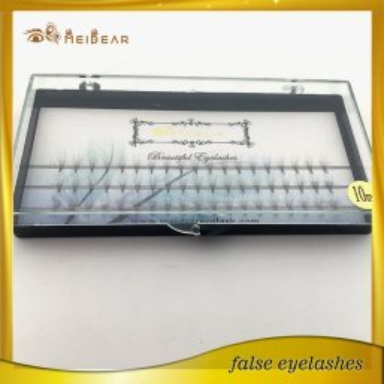 Factory wholesale OEM private label 3D4D 5D  pre-fanned individual lashe extension