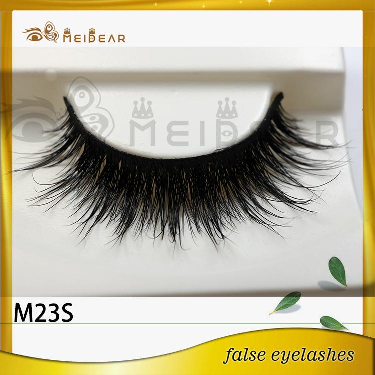 False eyelash factory supply real natural looking mink eyelashes