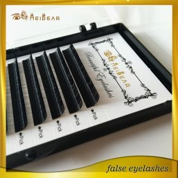 Hot selling private label mink individual eyelashes extension with custom boxes