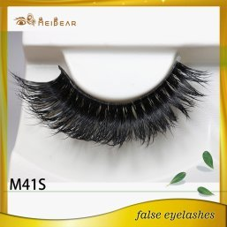 Manufacture supply mink eyelashes in customized packaging