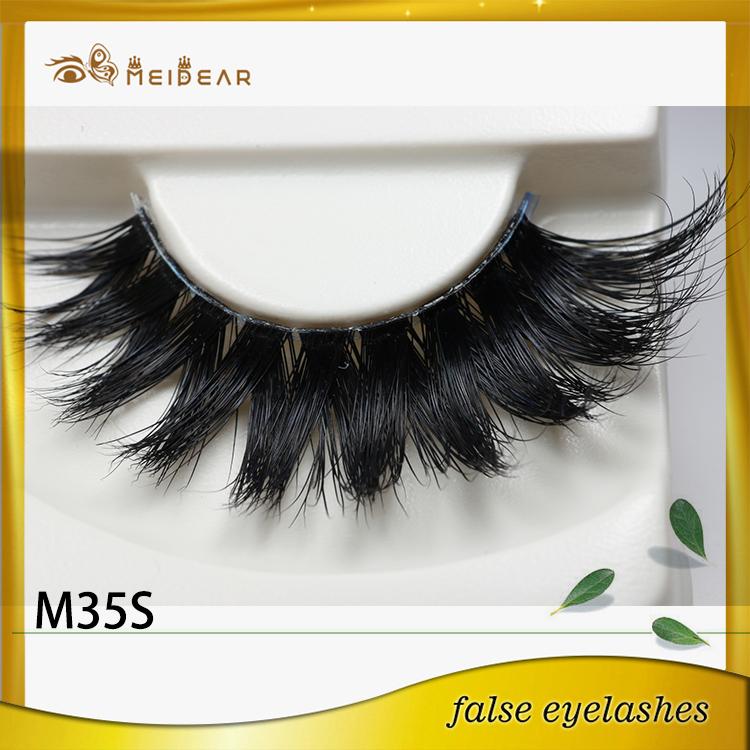 Manufacturer supply private label custom package mink eyelashes