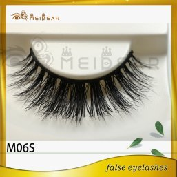 Meidear factory supply private label flutter mink lashes