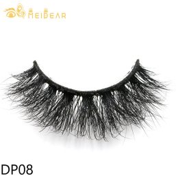 Private label 3D mink eyelashes with own brand packaging box to Europe