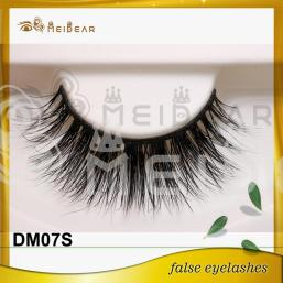 Private label hand made3D mink eyelashes manufacturer indonesia