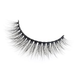 Manufacturer custom synthetic false eyelashes with own brand packaging