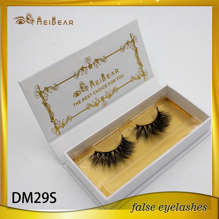 Qingdao medium volume mink lashes private label mink lashes