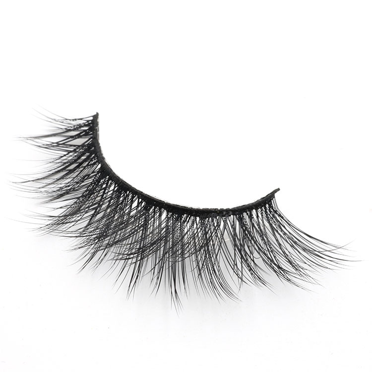 3D faux mink eyelash with own brand magnetic eyelash packaging to UK