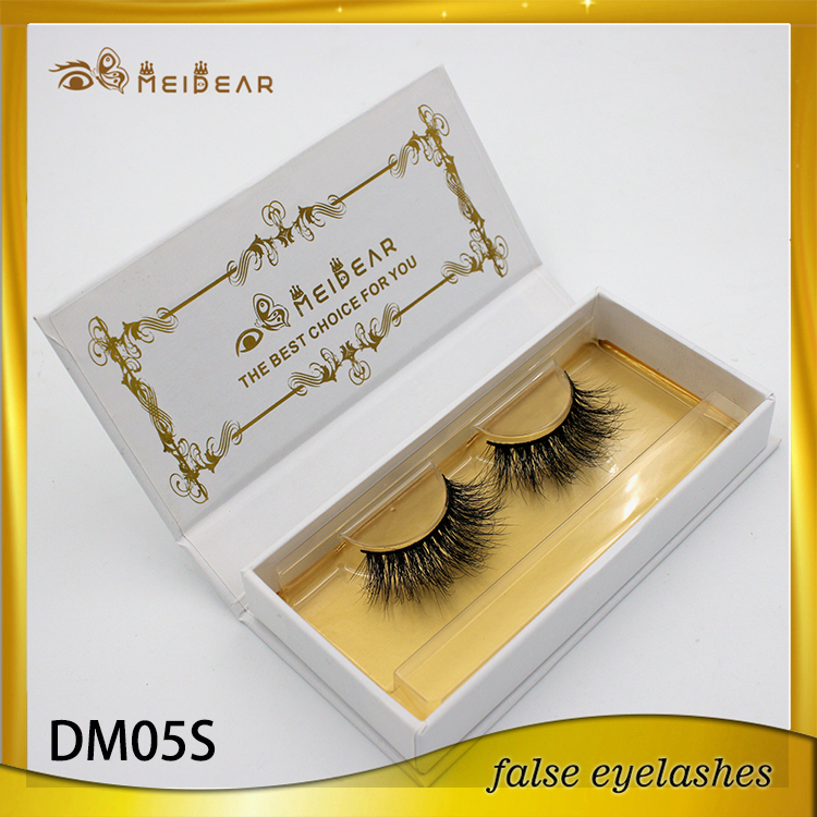 Amazing beautiful and soft 3d mink lashes in private label packaging