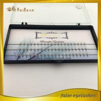 Most popular private label pre-fanned volume mink eyelashes with custom boxes