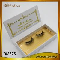 Best handmade strip mink fur lashes Qingdao fasle lashes