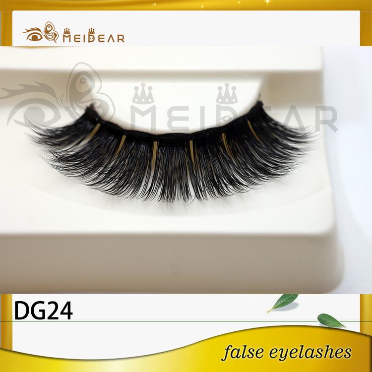 Distribute hot selling natural 3D faux mink eyelashes