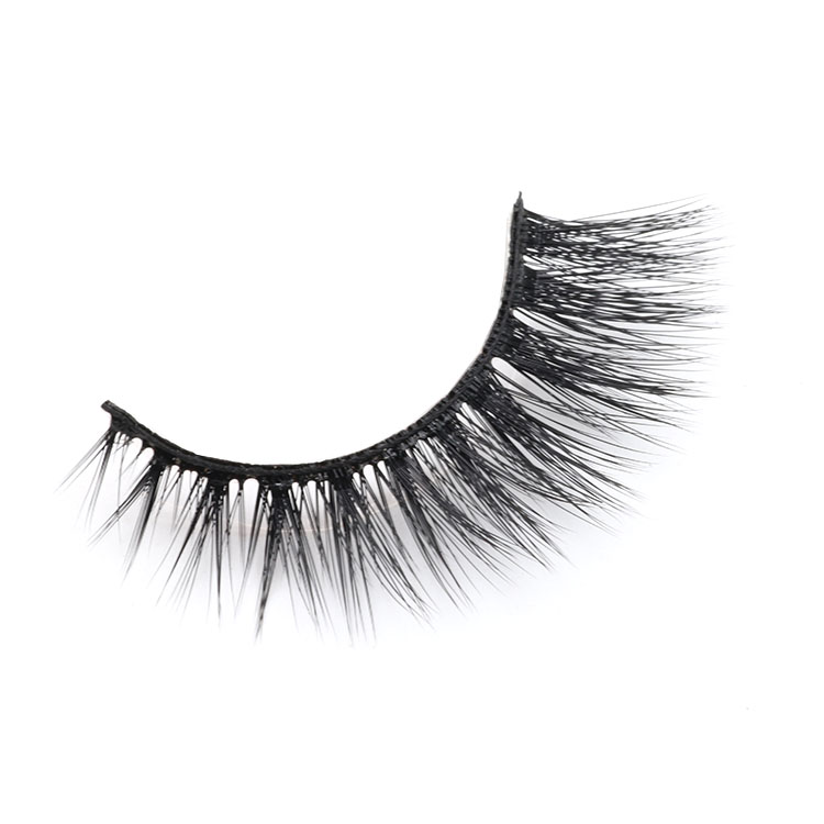 Distributor provide glamorous 3d faux mink eyelashes with own brand packaging box