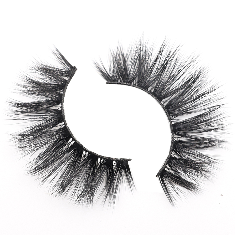 Distributor provide private label high quality 3D faux mink false lashes to USA