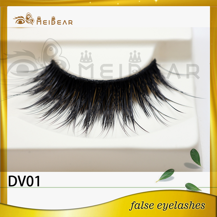 Factory supply low price custom package 3d faux mink eyelashes