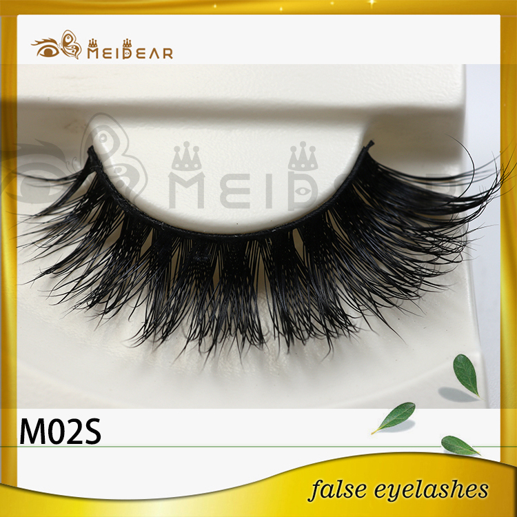 Factory supply private label wholesale super mink eyelashes