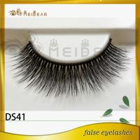 Factory wholesale private label eyelashes 3d silk professional