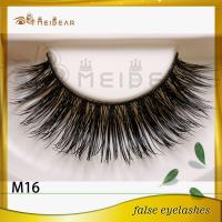Factory wholesale private label mink eyelashes professional