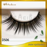 Factory wholesale private label silk eyelashes  professional