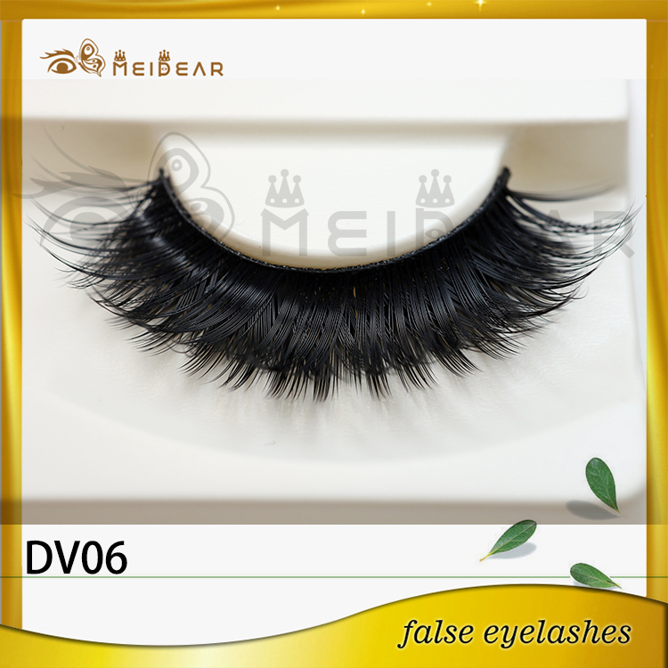 Hand made high quality 3D faux mink eyelashes made in indonesia