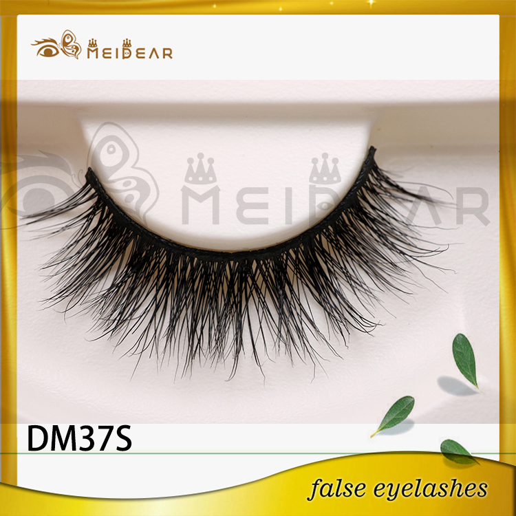 Hand made private label waterproof 3d mink eyelashes