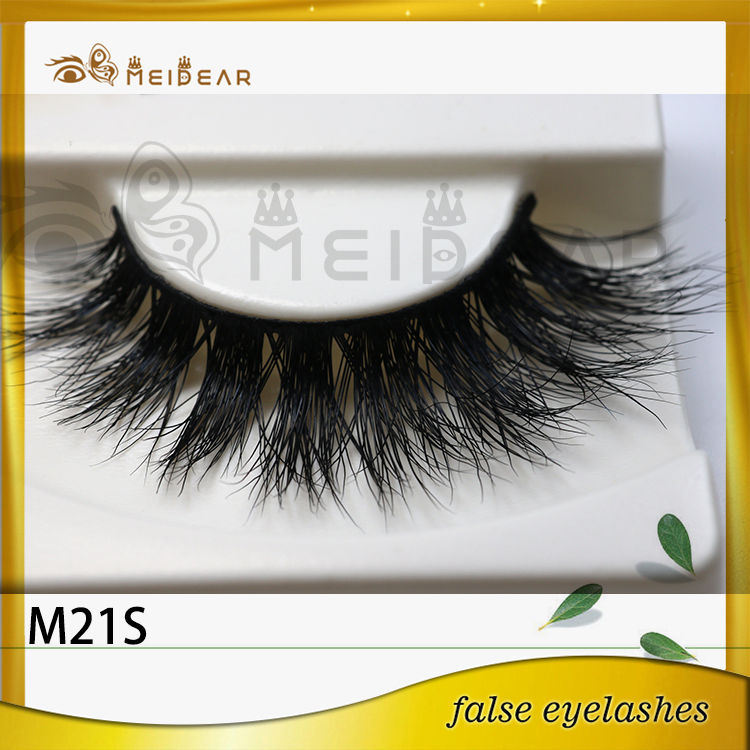 High quality best price hand made to make mink eyelashes