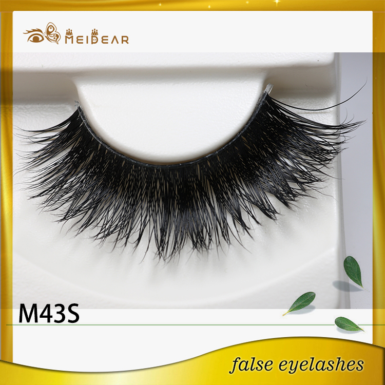 High quality custom package private label mink lashes