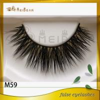 Hot style best price real mink lashes and custom package for sale