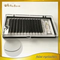 Individual lashes with custom package from factory