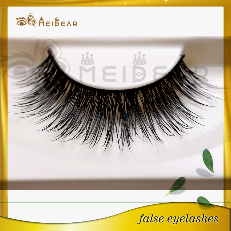 Long natural eyelashes mink material custom packaging private label