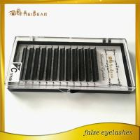 Manufacturer supply customized cases with handmade mink lashes with logo design