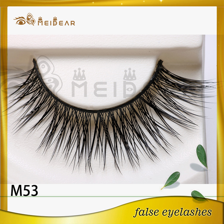Manufacturer supply mink eye lashes private label