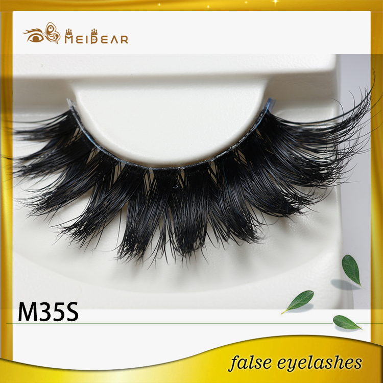Manufacturer supply private label custom package mink eyelashes