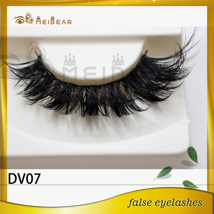 Meidear factory supply private label flutter 3D faux mink lashes