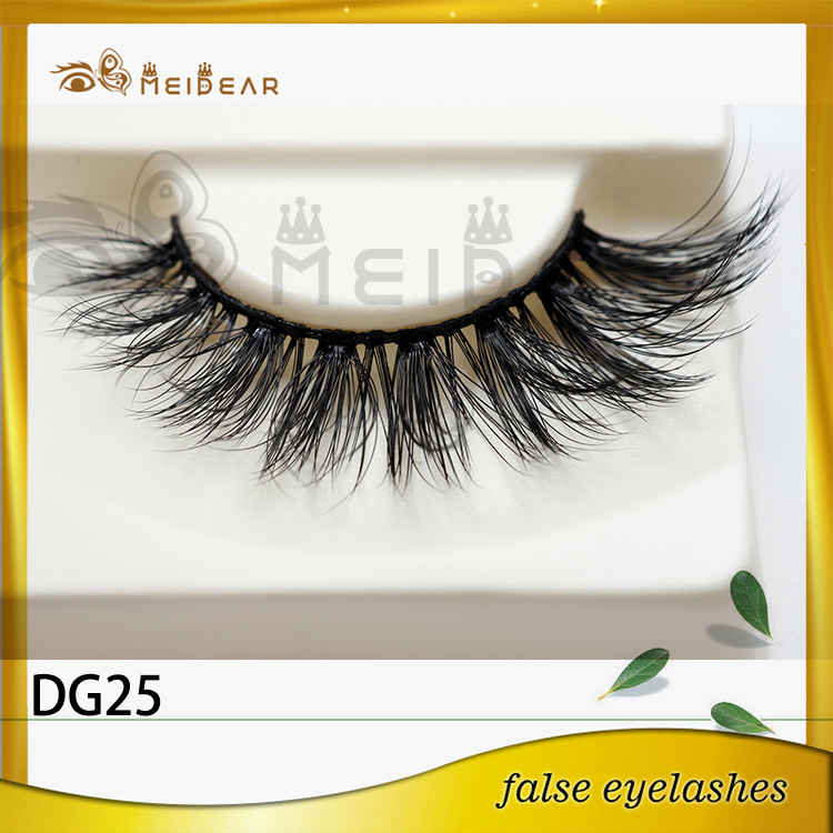 Newly fashion 3D faux eye lashes in Custom logo package