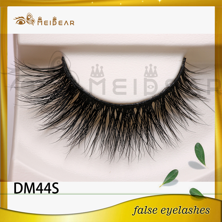 OEM high quality 100% cruelty-free real mink fur eyelashes