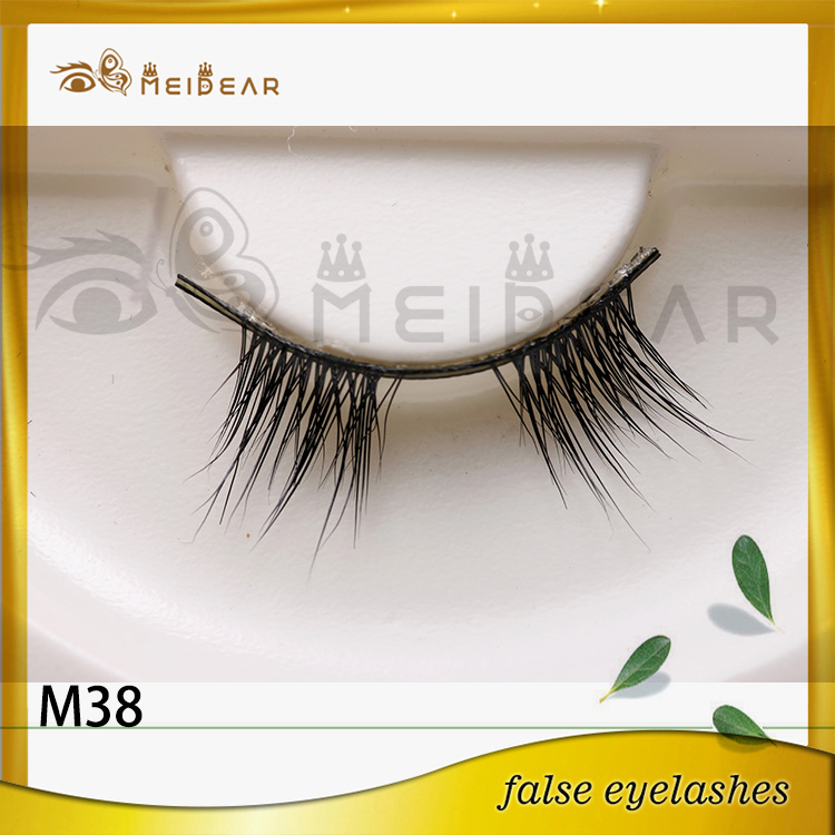 OEM high quality cruelty-free real mink eyelashes