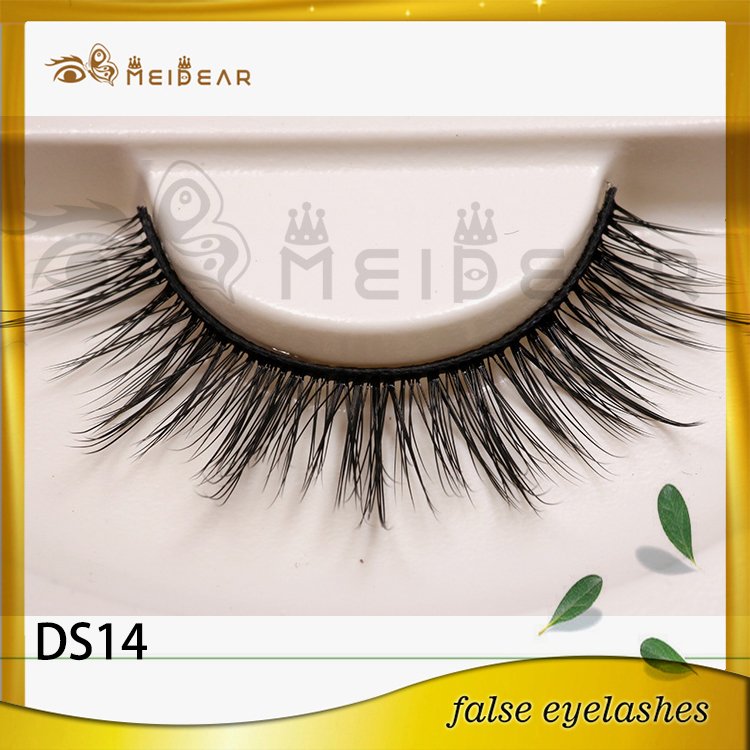 Private label hand made 3d silk eyelashes manufacturer indonesia