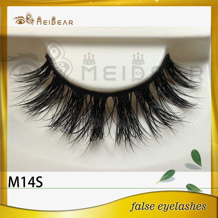 Siberian mink lashes eyelash supply with wholesale price