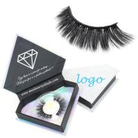 Vegan friend synthetic false eyelashes suppliers China wholesale private label 3d silk lashes