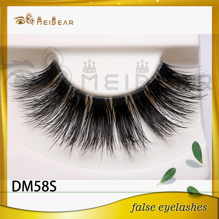 Wholesal custom package 3d mink lashes with private label