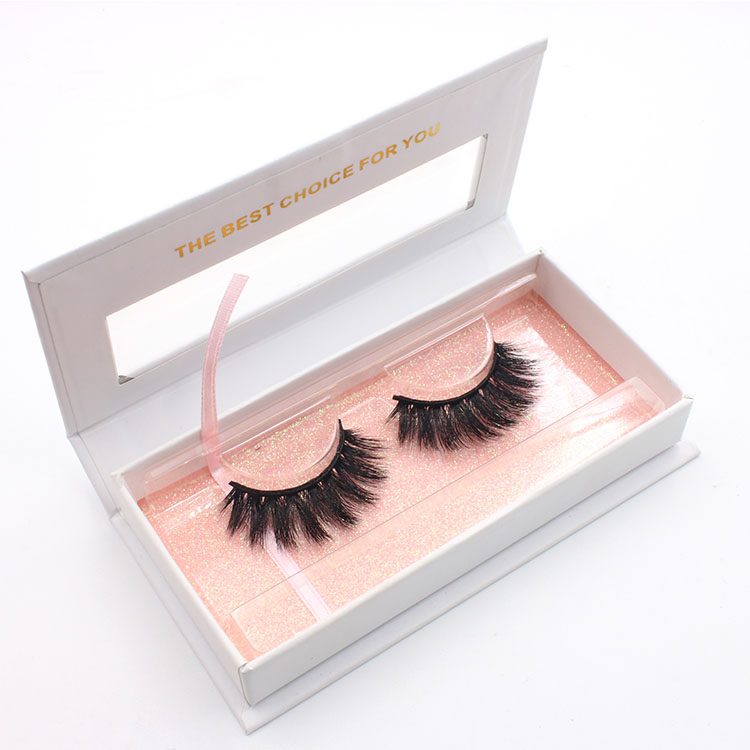Wholesale best selling 2018 3D silk eyelashes with private label box