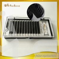 Beautiful eyelashes extensions wholesale with custom packaging