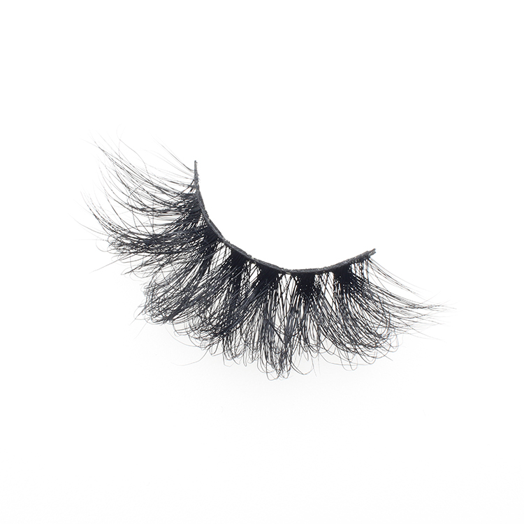 Lashes vendor supply siberian real mink fur 25mm 3D mink eyelash to USA