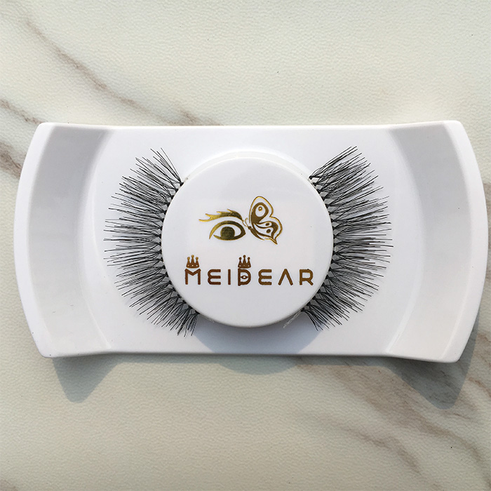 Gorgeous lashes with real human hair