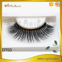 Factory offer best quality synthetic mink eyelash with magnetic box logo design