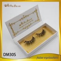 Private label natural looking mink lashes 3d  better curl